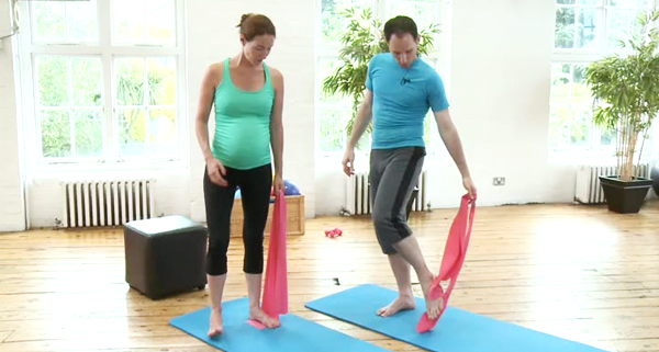 Online Pregnancy Pilates classes