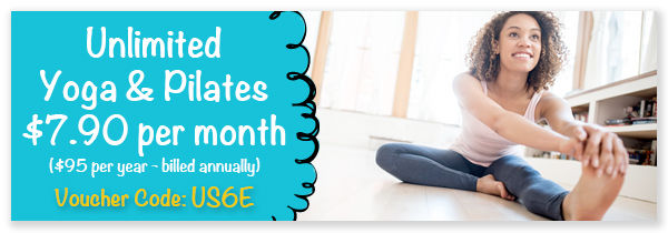 Online Pilates and yoga classes
