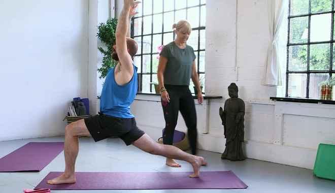 Intermdiate yoga classes online   yoopod com