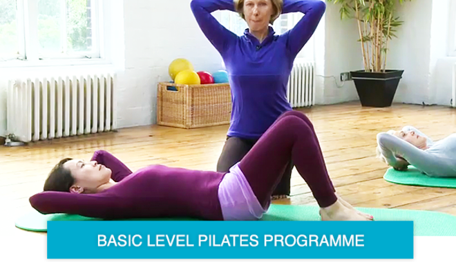 pilates for beginners online