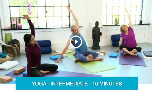 short yoga classes online