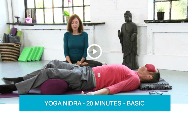Yoga Nidra to reduce stress
