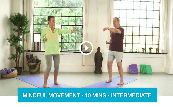Mindful movement to reduce stress