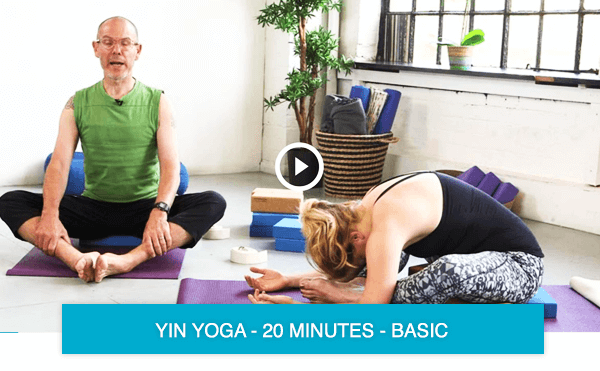 Yin Yoga to reduce stress