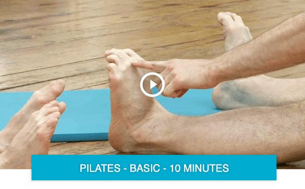 Pilates exercises for feet