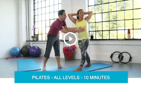 Short Pilates workouts online