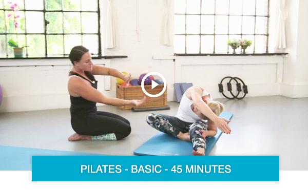 Online pilates class 501
