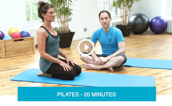 Pilates classes for back pain