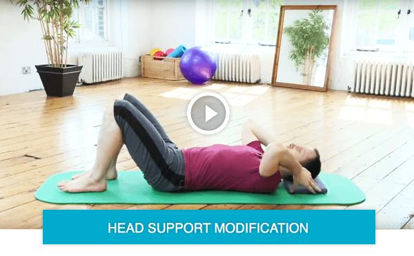 pilates modifications