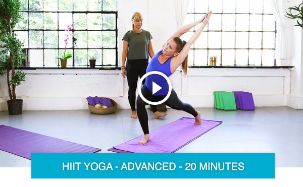 HIIT yoga online