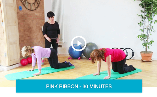 Pilates classes for recovery from breast cancer