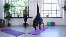 HIIT Yoga with Amanda Free - tips for advanced level class 1329