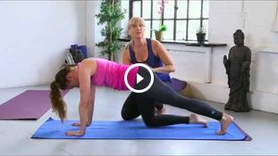 HIIT Yoga with Amanda Free - tips for intermediate level class 1333
