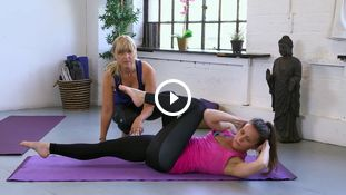 HIIT Yoga with Amanda Free - tips for basic level class 1331